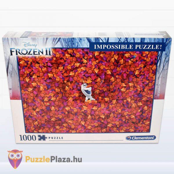 1000 db-os A Lehetetlen Puzzle (Impossible Puzzle) - Jégvarázs, Olaf doboza