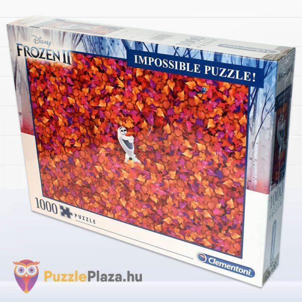 1000 db-os A Lehetetlen Puzzle (Impossible Puzzle) - Jégvarázs, Olaf oldalról