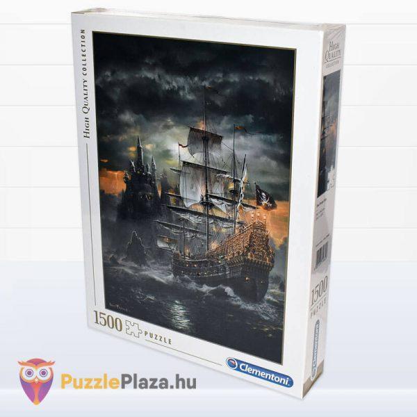 1500 darabos kalózhajó puzzle - clementoni 31682 oldalról
