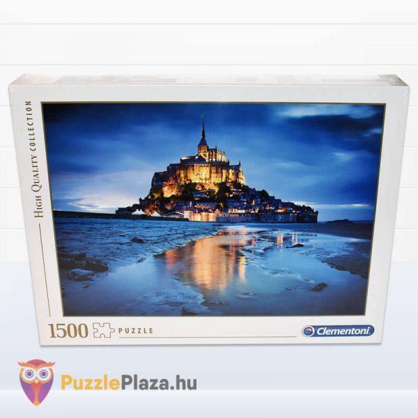 1500 db-os Le Mont Saint Michel Puzzle - Clementoni 31994 doboza