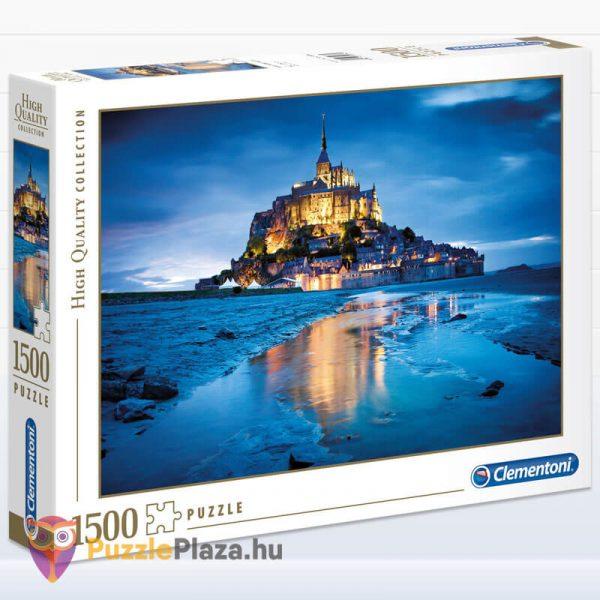 1500 db-os Le Mont Saint Michel Puzzle - Clementoni 31994
