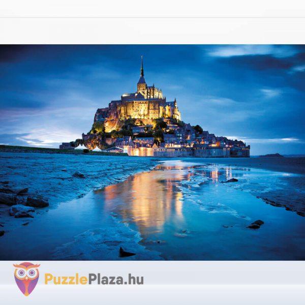 1500 db-os Le Mont Saint Michel Puzzle - Clementoni 31994 kirakott kép