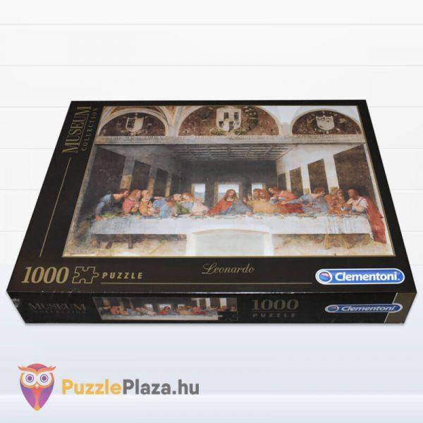 Leonardo Da Vinci - Az utolsó vacsora Puzzle - Museum Collection - Clementoni 31447 fektetve