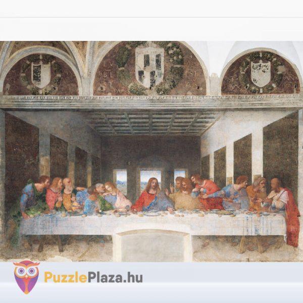 Leonardo Da Vinci - Az utolsó vacsora Puzzle - Museum Collection - Clementoni 31447 kirakott kép