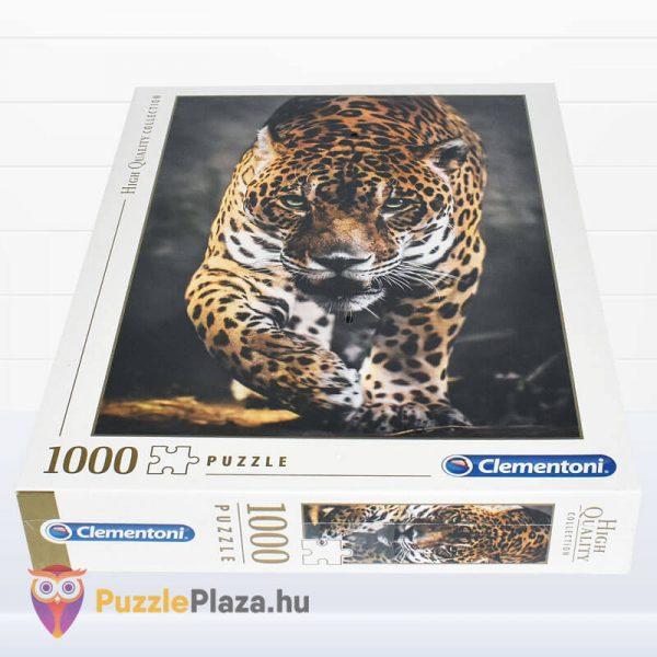 1000 darabos lesben álló jaguár puzzle, Clementoni 39326 fektetve