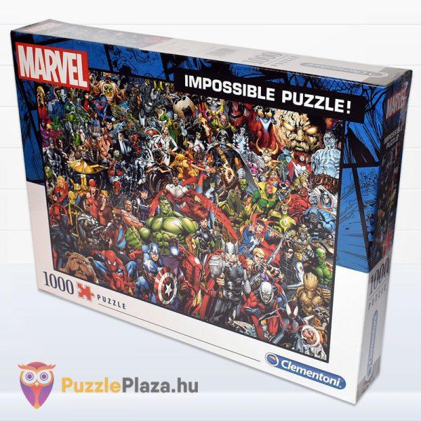 1000 darabos Marvel Szuperhősök Puzzle - Clementoni 39411 - elforgatva
