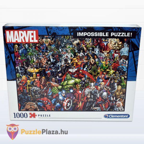 1000 darabos Marvel Szuperhősök Puzzle - Clementoni 39411 - előről