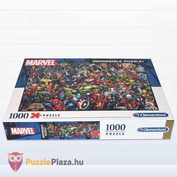 1000 darabos Marvel Szuperhősök Puzzle - Clementoni 39411 - fektetve
