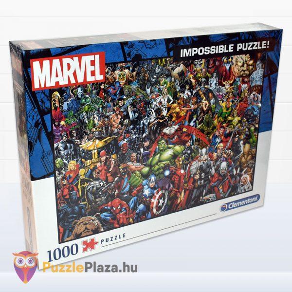 1000 darabos Marvel Szuperhősök Puzzle - Clementoni 39411 - oldalról