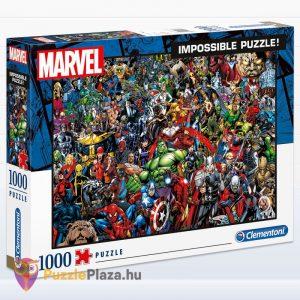 1000 darabos Marvel lehetetlen puzzle. Clementoni 39411