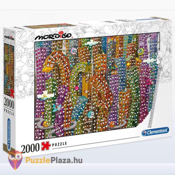 2000 darabos Mordillo - A Dzsungel - Clementoni 32565 jobbról