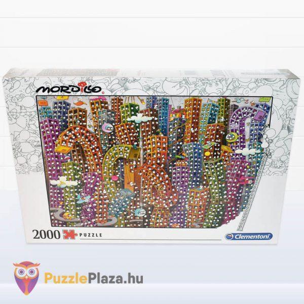 2000 darabos Mordillo - A Dzsungel - Clementoni 32565 doboza