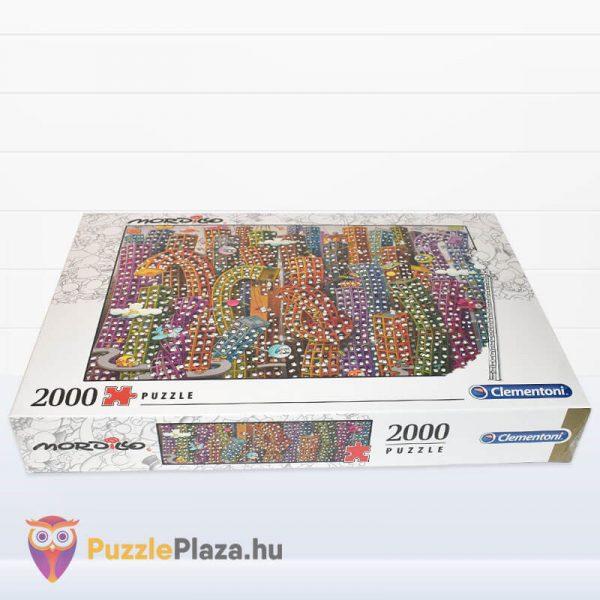 2000 darabos Mordillo - A Dzsungel - Clementoni 32565 fektetve