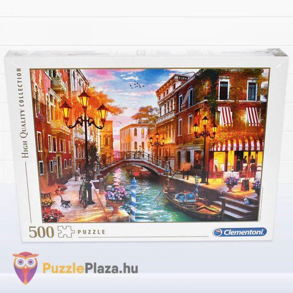 500 db-os Naplemente Velencében Puzzle, Clementoni 35063 doboz