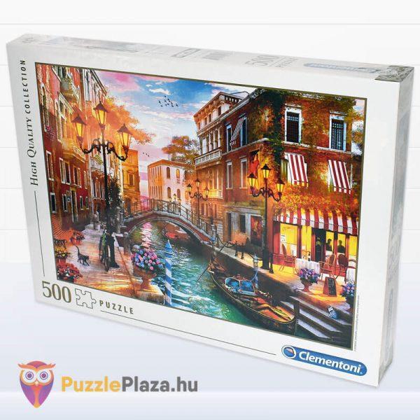 500 db-os Naplemente Velencében Puzzle, Clementoni 35063 jobbról
