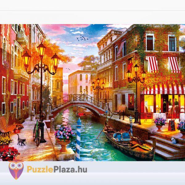 500 db-os Naplemente Velencében Puzzle, Clementoni 35063 kirakott képe