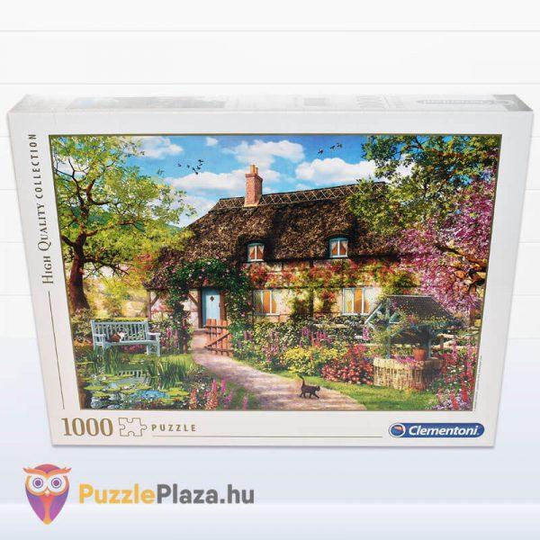 1000 darabos öreg kunyhó puzzle, Clementoni High Quality Collection 39520