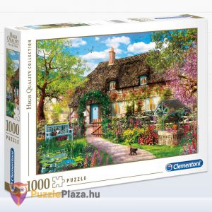 1000 darabos öreg kunyhó puzzle, Clementoni High Quality Collection 39520 doboz