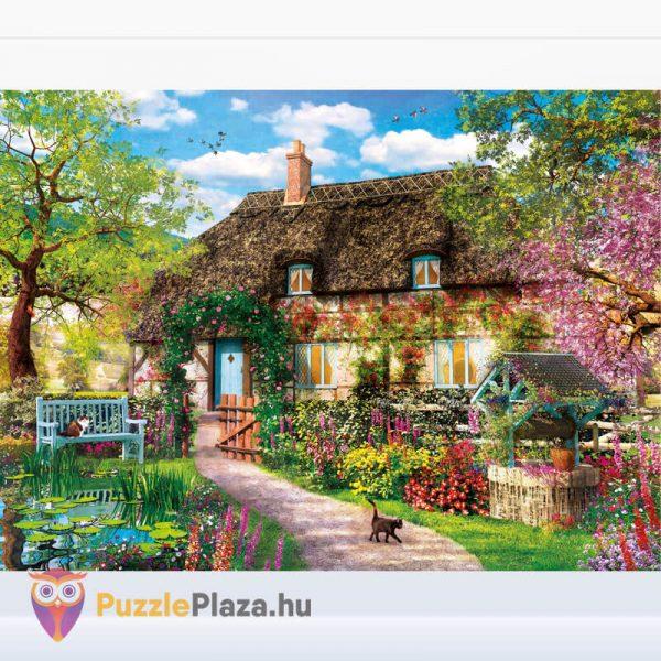 1000 darabos öreg kunyhó puzzle, Clementoni High Quality Collection 39520 kirakott kép