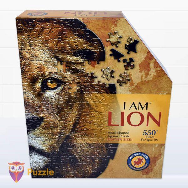 Oroszlán formájú puzzle 550 darabos, Wow Toys előről