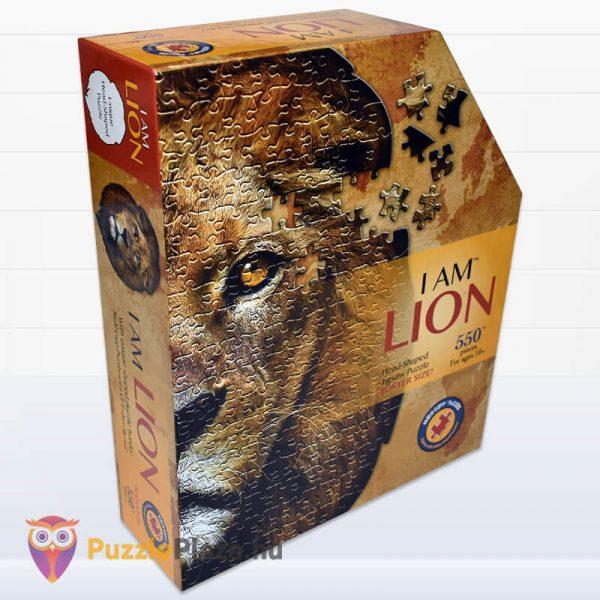Oroszlán formájú puzzle 550 darabos, Wow Toys oldalről 2