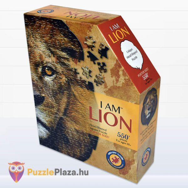 Oroszlán formájú puzzle 550 darabos, Wow Toys oldalről 1