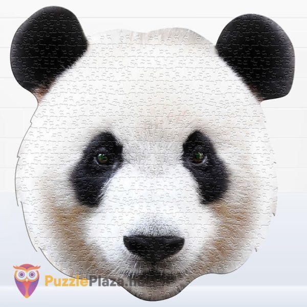 550 darabos panda fej formájú puzzle, wow toys kirakott kép