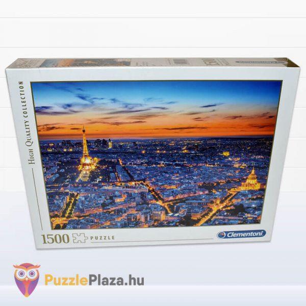 1500 darabos Clementoni 31815 - Párizs látképe naplementekor előről