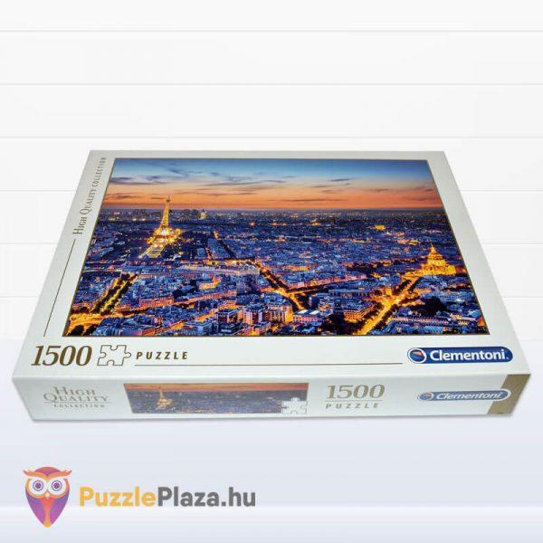 1500 darabos Clementoni 31815 - Párizs látképe naplementekor fektetve