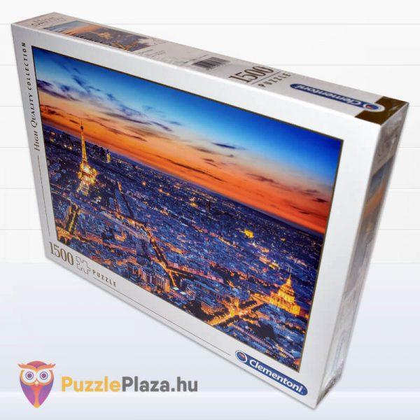 1500 darabos Clementoni 31815 - Párizs látképe naplementekor oldalról