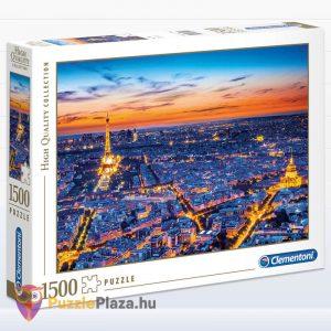1500 darabos Clementoni 31815 - Párizs látképe naplementekor