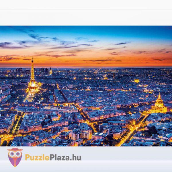 1500 darabos Clementoni 31815 - Párizs látképe naplementekor kirakott kép