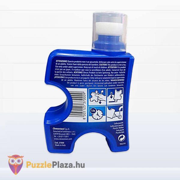 Folyékony Puzzle Ragasztó (200ml) - Clementoni 37000 hátulról