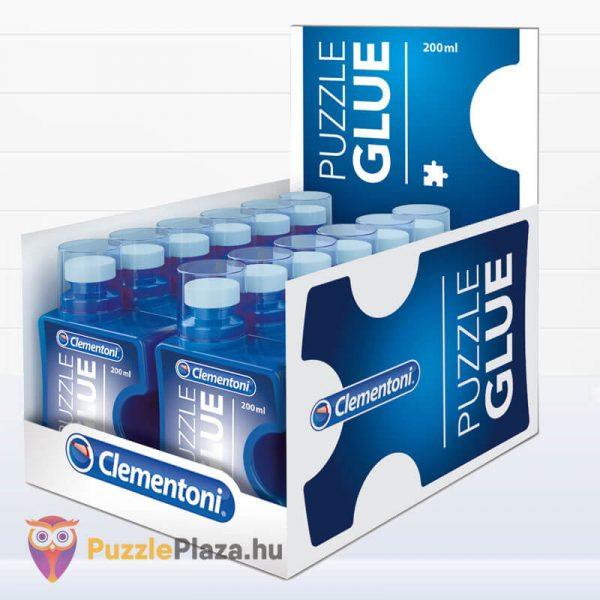 Folyékony Puzzle Ragasztó (200ml) - Clementoni 37000 kartonban