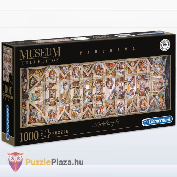 1000 darabos Sixtus Kápolna - Michelangelo Museum Collection Puzzle - Clementoni 39498