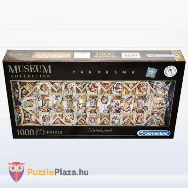 1000 darabos Sixtus Kápolna - Michelangelo Museum Collection Puzzle - Clementoni 39498 előről