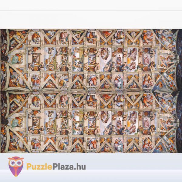 1000 darabos Sixtus Kápolna - Michelangelo Museum Collection Puzzle - Clementoni 39498 kirakott kép