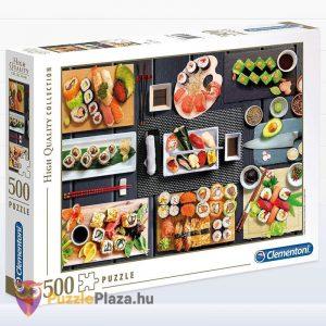500 darabos sushi puzzle - clementoni 35064