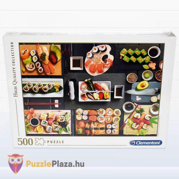 500 darabos sushi puzzle - clementoni 35064 doboza
