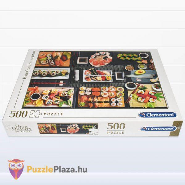 500 darabos sushi puzzle - clementoni 35064 fektetve