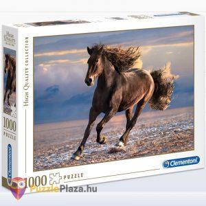 1000 db-os szabad ló puzzle (szabadság). Clementoni 39420 doboz