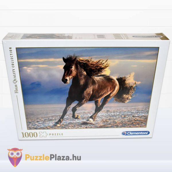 1000 db-os szabad ló puzzle (szabadság). Clementoni 39420 előről