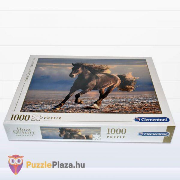 1000 db-os szabad ló puzzle (szabadság). Clementoni 39420 fektetve