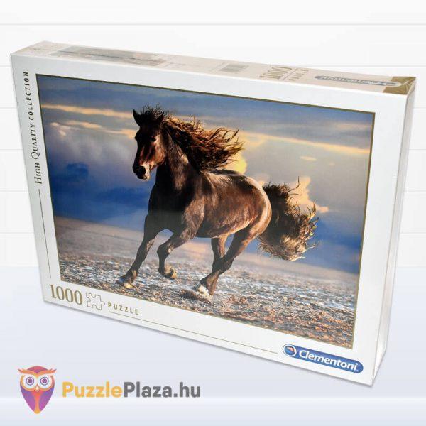 1000 db-os szabad ló puzzle (szabadság). Clementoni 39420 balról