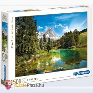 1000 darabos tájkép puzzle (blue lake puzzle) - Clementoni 31680