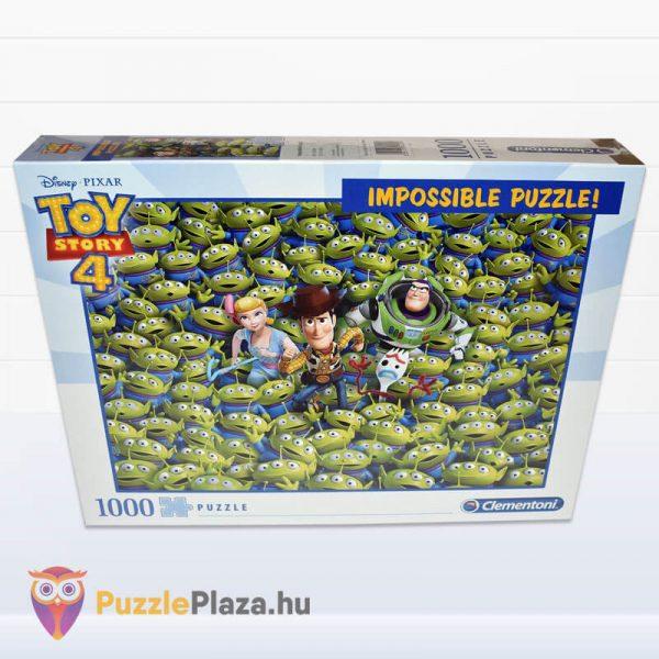 1000 darabos Toy Story 4 Lehetetlen Puzzle. Clementoni 39499 előről