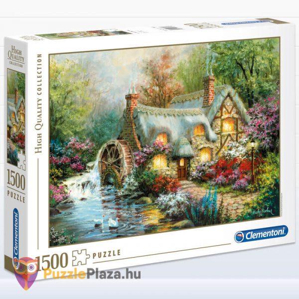 1500 darabos vidéki nyugalom puzzle, clementoni 31812