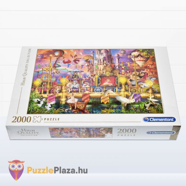 2000 darabos A Cirkusz Puzzle - High Quality Collection 32562 fektetve