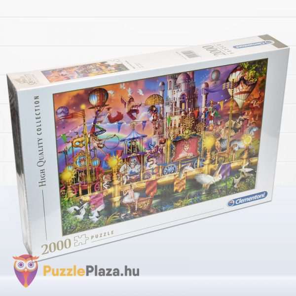 2000 darabos A Cirkusz Puzzle - High Quality Collection 32562 jobbról