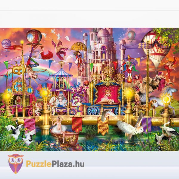 2000 darabos A Cirkusz Puzzle - High Quality Collection 32562 kirakott kép